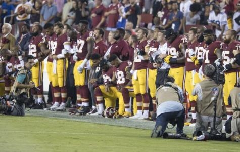 Athletes Taking a Knee