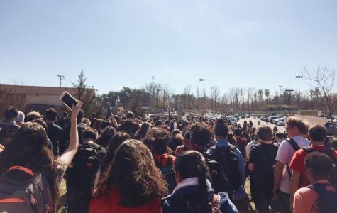 CVHS Student Organized Gun Control Walkout