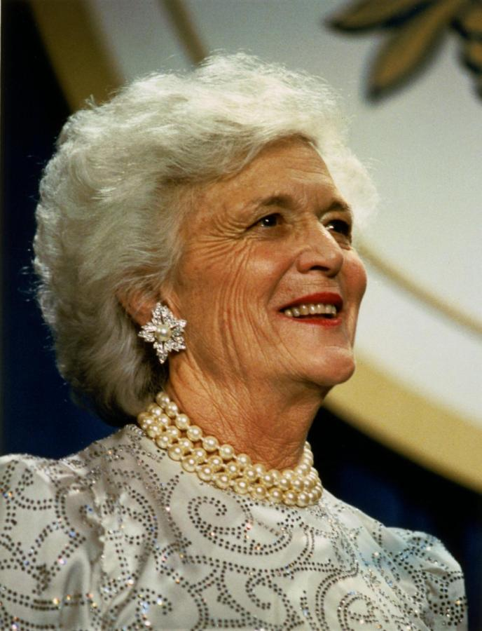 Barbara+Bush+Passes+at+Age+92