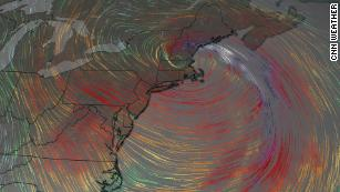 A Bomb Cyclone is Disrupting the Northeast
