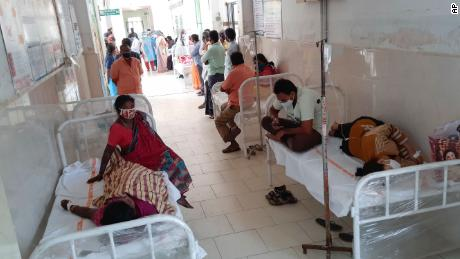 District govt hospital , Elooru, Andhra, Sunday, Dec.6
