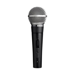 Shure SM58S Dynamic Vocal Microphone - with Switch