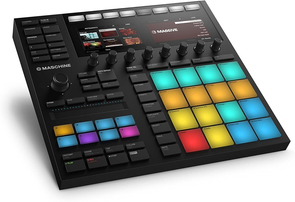 Native Instruments Maschine Mk3 Drum Controller font