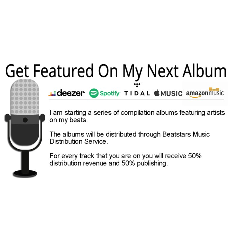 Get a feature on my next album.
