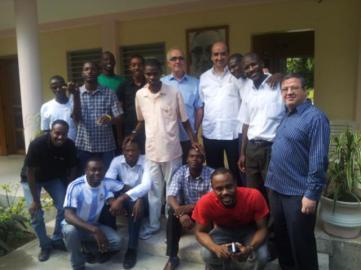 Grupo vocacional Haití: marzo 2013