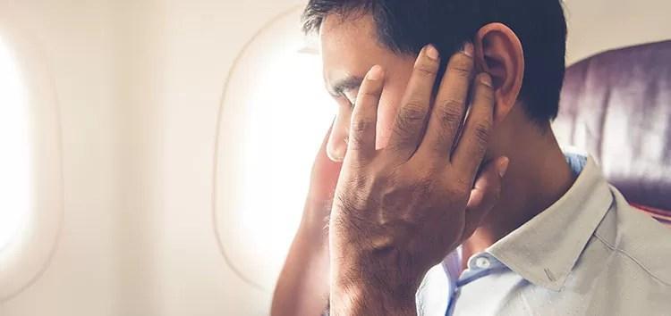 Por qué los cambios bruscos de presión afectan al oído