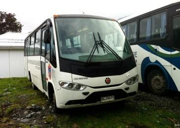 Buses usados como transporte preferido para el transporte de público