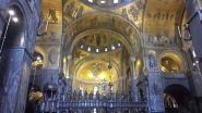 I Mosaici illuminati nella Basilica di San Marco