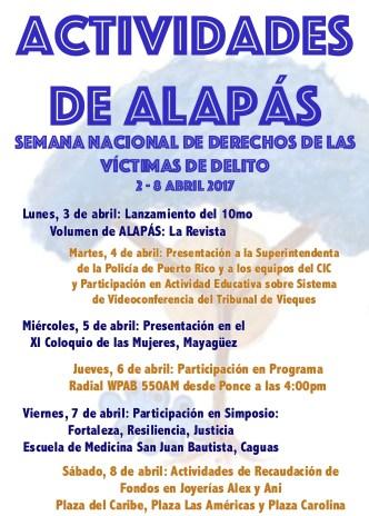Semana Nacional Derechos Víctimas abril2017