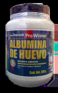 albumina de huevo