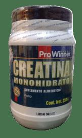 creatina monohidrato pro winner