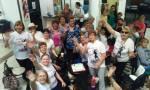 Festejos de cumpleaños de una socia del grupo GYM 20-09-2017