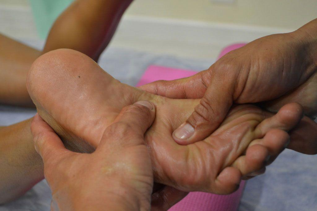 Reflexoterapia en terapias de la kinesiología