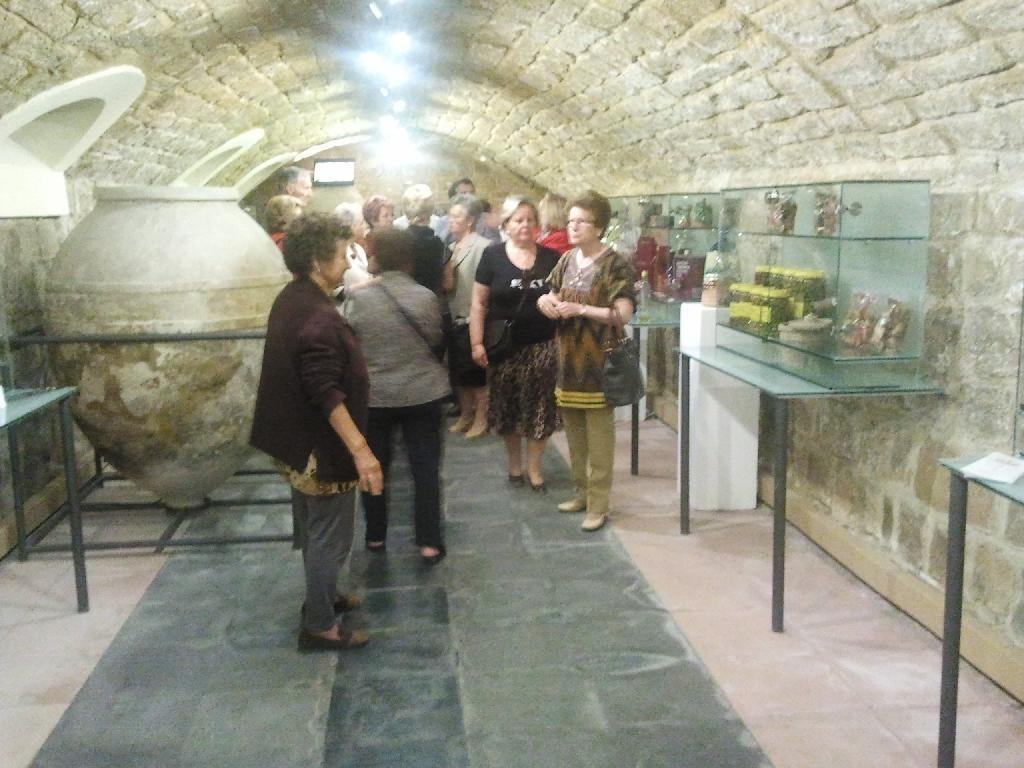 visita grupo al museo