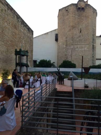 Patio del Centro de Interpretación Olivar y Aceite