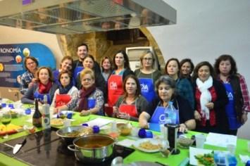 Foto de familia en Taller de Cocina
