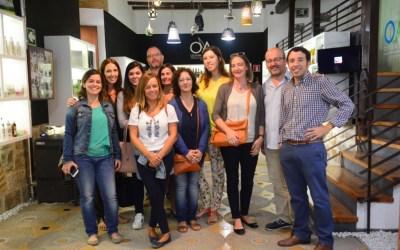 EL CENTRO DE INTERPRETACIÓN OLIVAR Y ACEITE RECIBE LA VISITA DE UNA DECENA DE TUROPERADORES PORTUGUESES