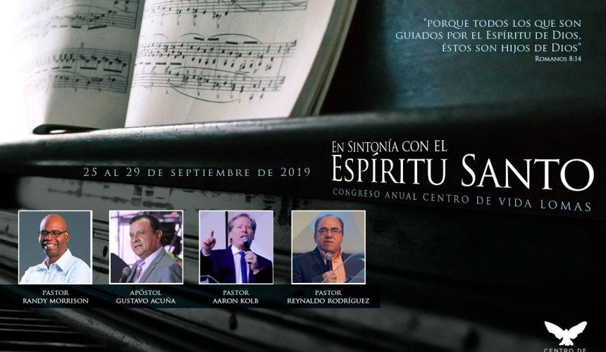 """RESEÑA Congreso Anual """"EN SINTONÍA CON EL ESPÍRITU SANTO"""""""