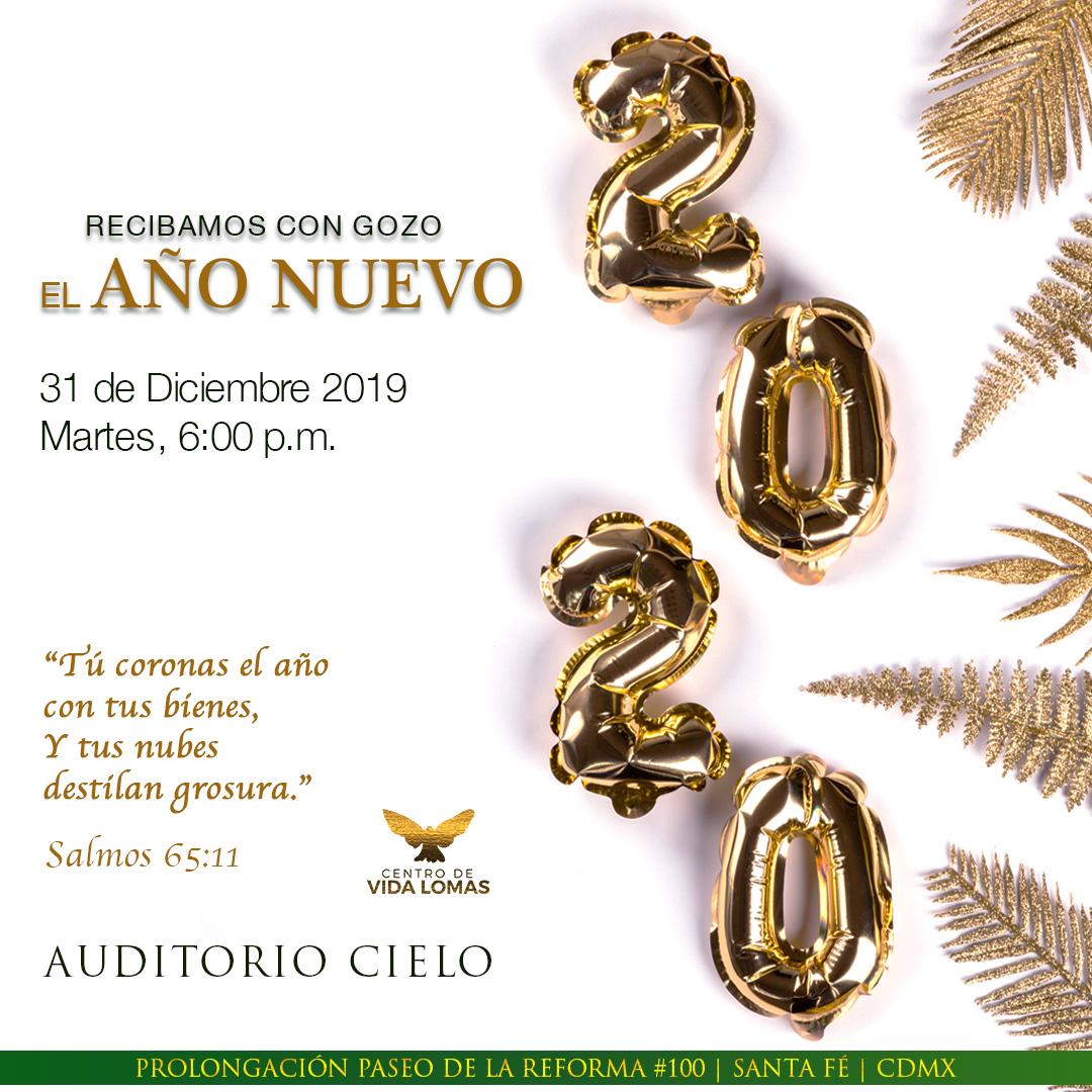 REUNIÓN ESPECIAL: Recibamos con gozo el año nuevo 2020