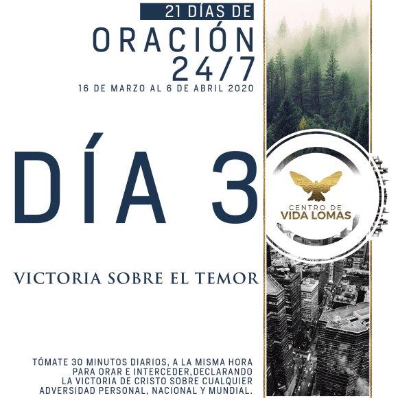 DÍA 3. VICTORIA SOBRE EL TEMOR.