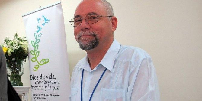 """Charla Abierta: """"Realidad de la Iglesias Protestantes en Cuba""""a cargo de Rev. Dr.Carlos Emilio Ham"""