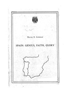 Spain: Genius, Faith, Glory