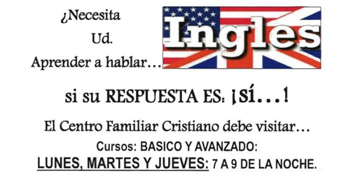 Aprende Ingles en el Centro Familiar Cristiano