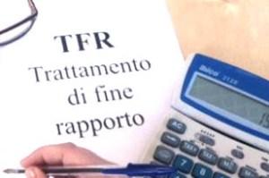 Recupero TFR fallimento Azienda UDINE CAF