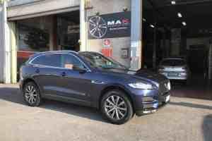 Jaguar F-Pace; cerchi MAK Birmingham Gun Met-Mirror Face