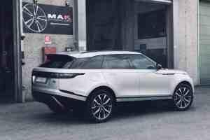 Range Rover Velar con cerchi MAK Highlands Gun Met-Mirror Face