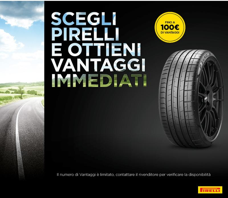 Promozione Pirelli Pneumatici estivi Bergamo Osio Sopra