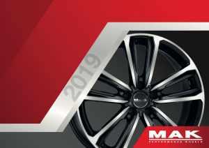 Catalogo MAK Wheels Centro gomme