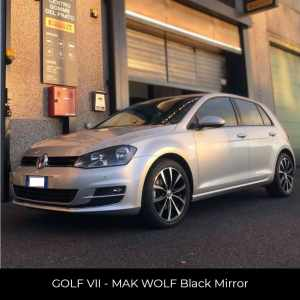 Golf VII - Cerchi MAK Wolf Black Mirror
