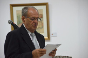 Luis Paulino Delgado compartirá con la comunidad una exposición individual de acuarelas
