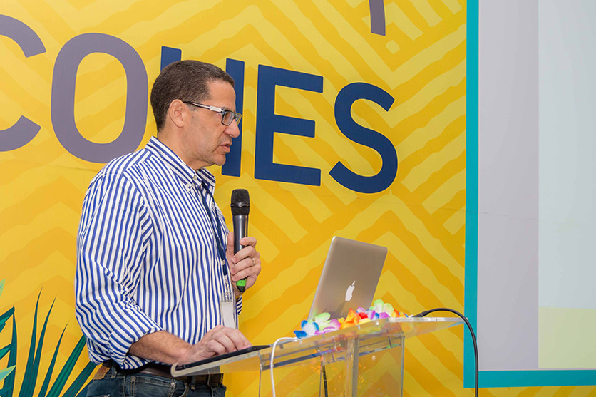 Dr. Juan Ubiera en el COHES 2018