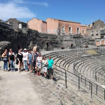 The Roman Theatre of Catania