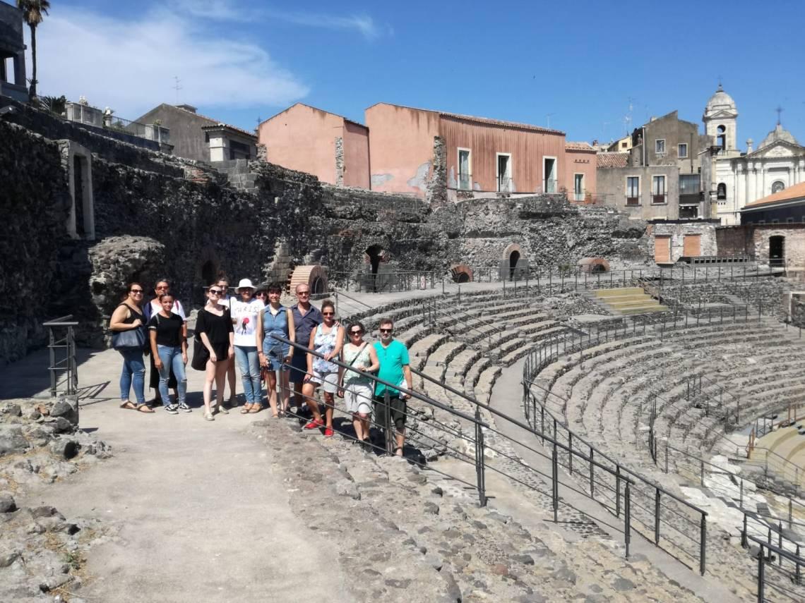 attività culturale al teatro romano