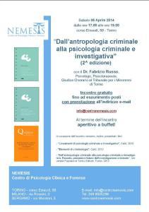 Dall'antropologia criminale alla psicologia criminale e investigativa (2^ edizione)