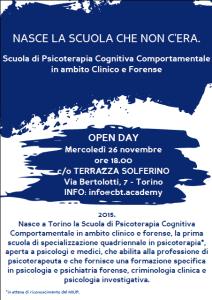 Scuola di Psicoterapia Cognitiva Comportamentale in Ambito Clinico e Forense