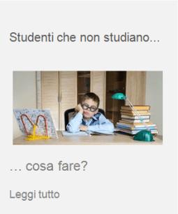 fobia scolastica non studiare cattivi studenti