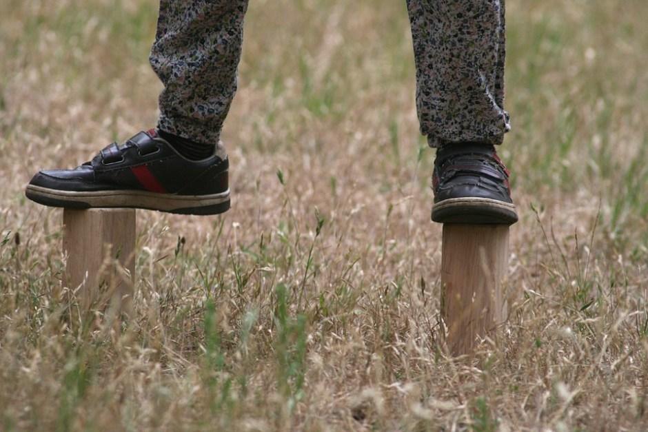 Zapatos cómodos en los niños