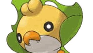 Un gusano de seda, nuevo Pokémon de la V Generación