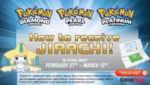 Confirmación del evento de Jirachi para Estados Unidos