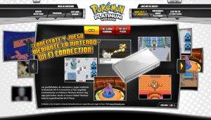 Abrio la Web oficial de Pokémon Platino en Español