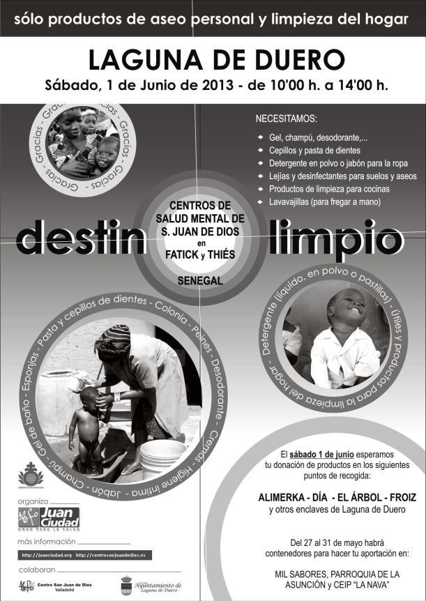 campaña destino limpio 2013 Juan Ciudad ONGD