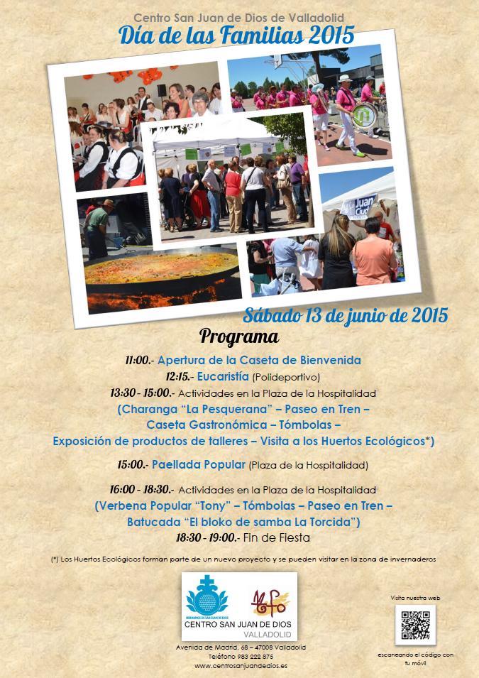 Programa Día de las Familias 2015