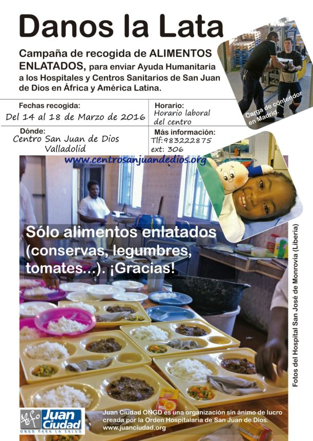 danos la lata Juan Ciudad ONGD