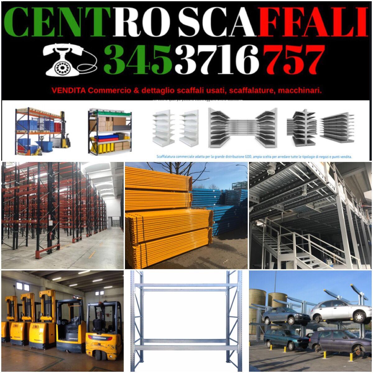 Scaffali usati in tutta Italia, vendita e istallazione porta pallet, cantilever, Soppalco, drive-in, passerella, self-service, COMPRO SCAFFALATURE PAGAMENTO IMMEDIATO