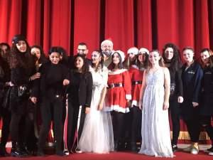 """Trucco spettacolo natalizio """"Scrooge e Marley"""""""