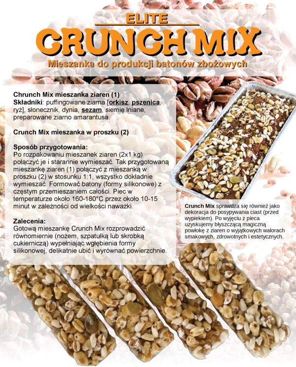 crunch mix - ulotka